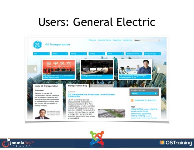 Users: General Electric