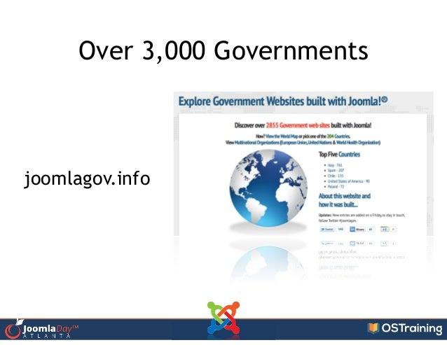Over 3,000 Governments joomlagov.info