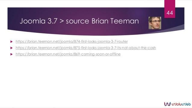 Joomla 3.7 > source Brian Teeman  https://brian.teeman.net/joomla/874-first-looks-joomla-3-7-router  https://brian.teema...