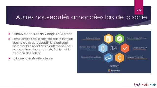 Autres nouveautés annoncées lors de la sortie  la nouvelle version de Google reCaptcha  l'amélioration de la sécurité pa...