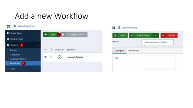 Add a new Workflow