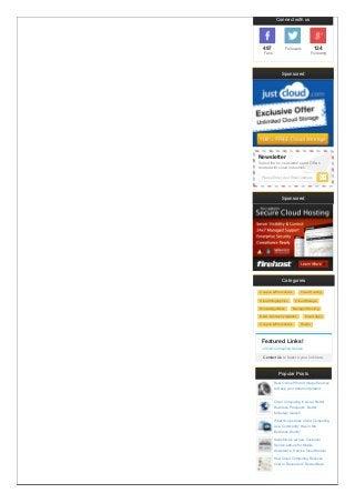 Best Joomla Cloud Hosting Providers