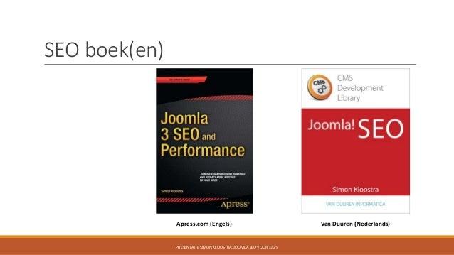 Joomla SEO voor JUG's Slide 3