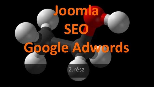 Joomla SEO Google Adwords 2.rész