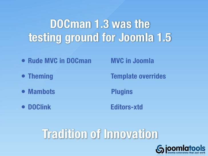 JoomDOC 3 Now Available