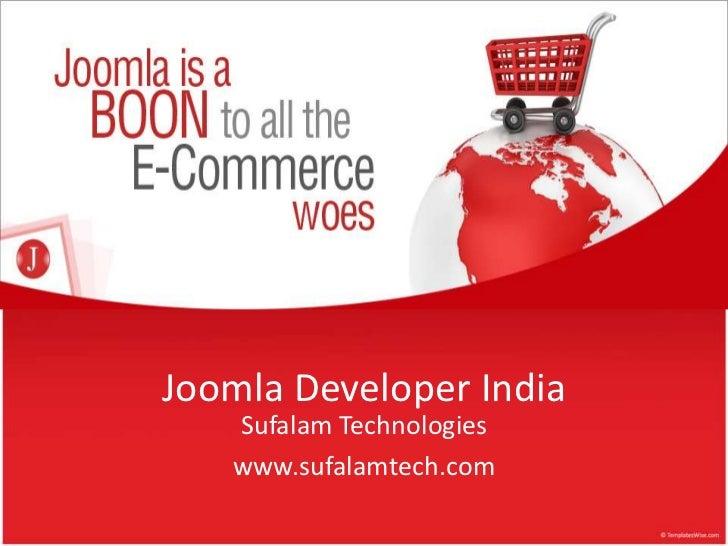 Joomla Developer India   Sufalam Technologies   www.sufalamtech.com