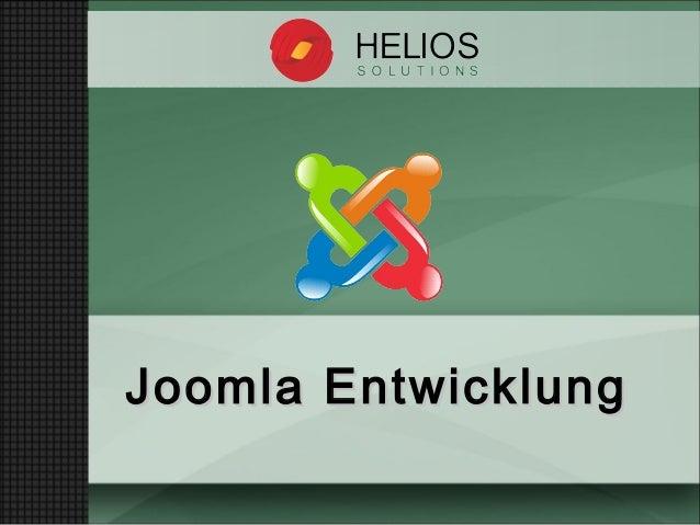 Joomla EntwicklungJoomla Entwicklung