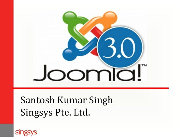 Santosh Kumar Singh Singsys Pte. Ltd.