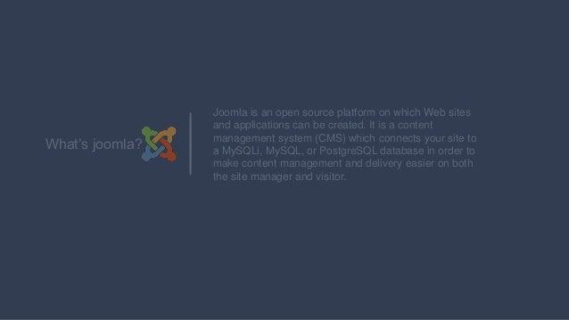 Joomla sample first tutorial.