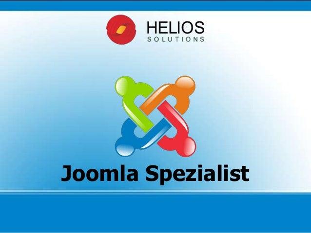 Joomla Spezialist