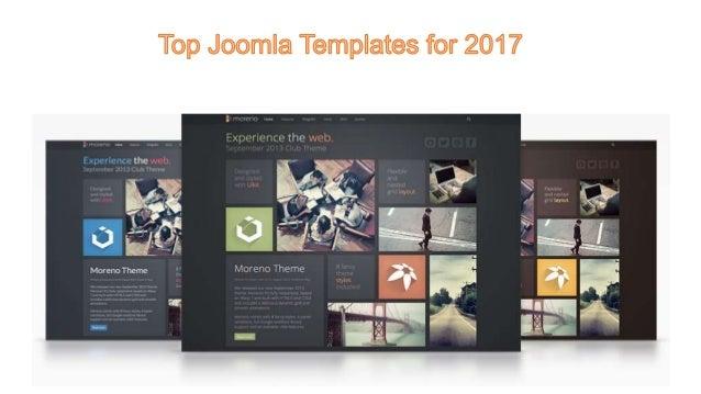 Best Joomla templates in 2017