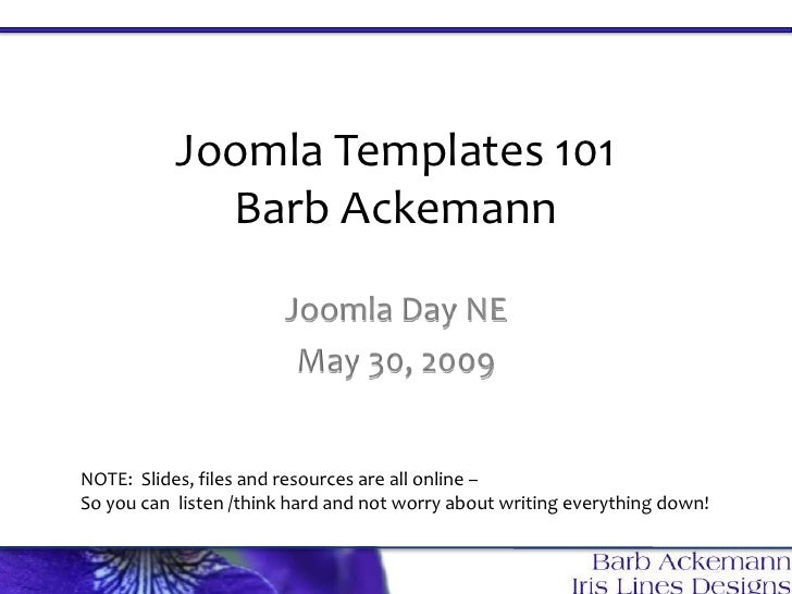 Joomla Templates101