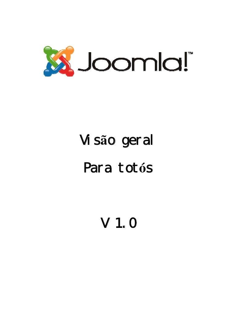 Visão geral  Para totós       V 1. 0