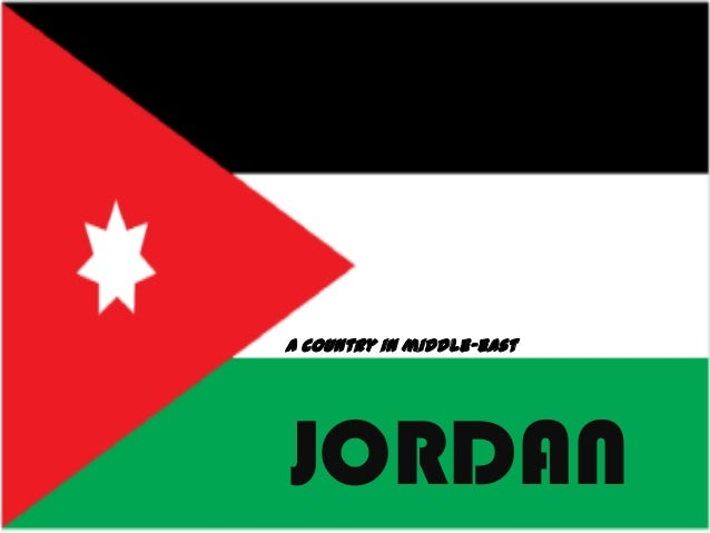 A country in middle-eastJORDAN