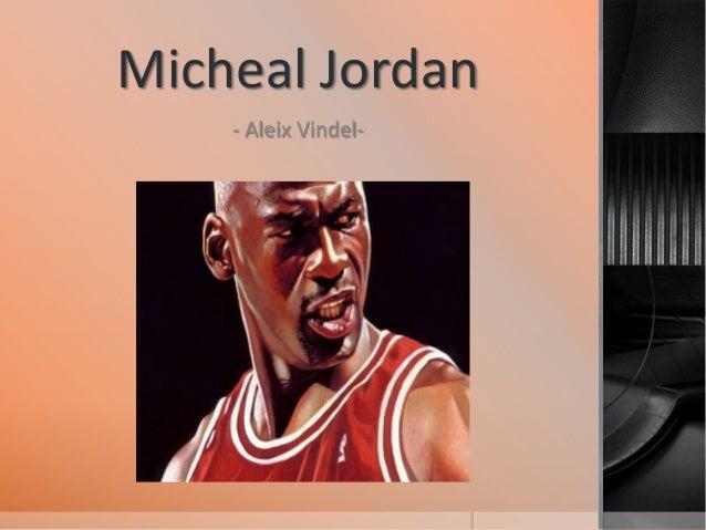Micheal Jordan - Aleix Vindel-