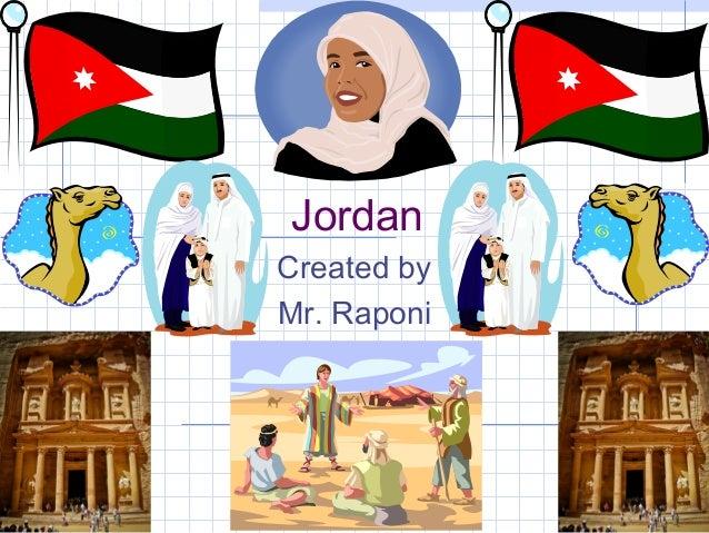 JordanCreated byMr. Raponi