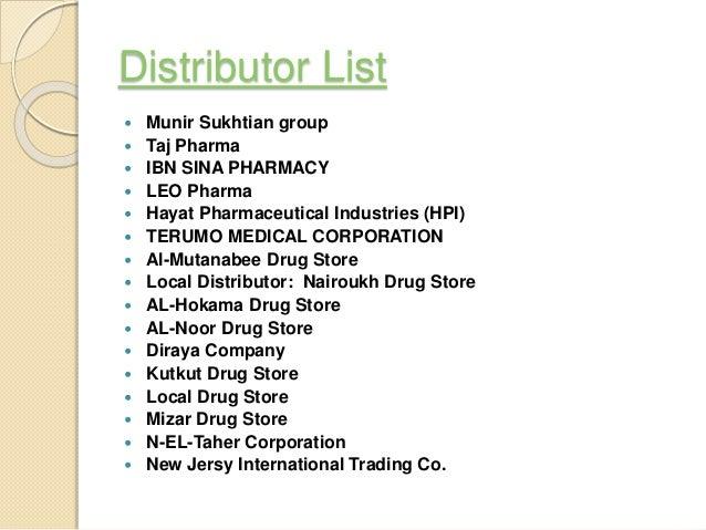 pharmaceutical business in Jordan