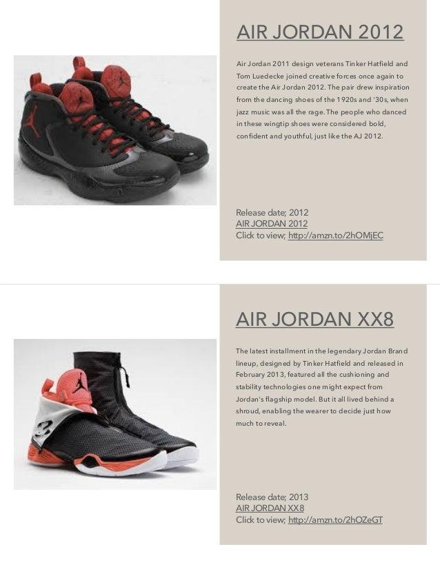 huge discount 8aefd 862b3 AIR JORDAN 2012 Air Jordan 2011 design veterans Tinker Hatfield ...