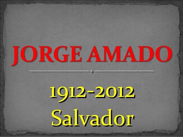 1912-20121912-2012 SalvadorSalvador