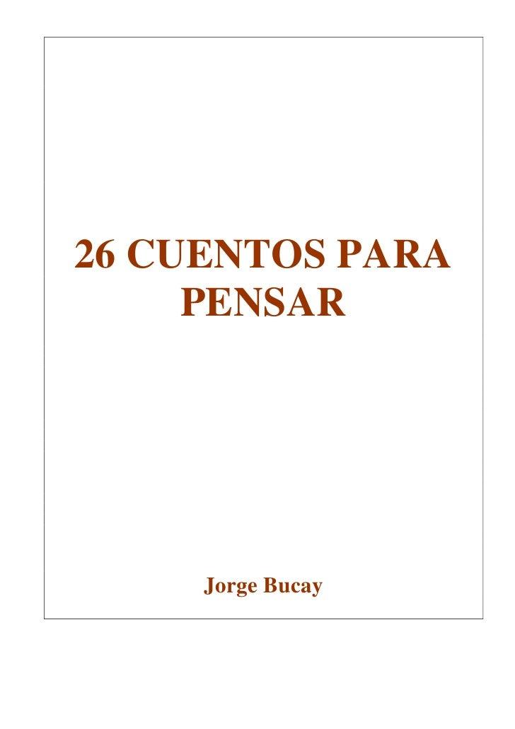 libro cuentos para pensar de jorge bucay pdf