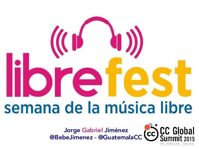 Jorge Gabriel Jiménez @BebeJimenez - @GuatemalaCC