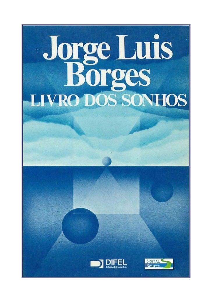 Jorge luis borges   livro dos sonhos (doc)(rev)
