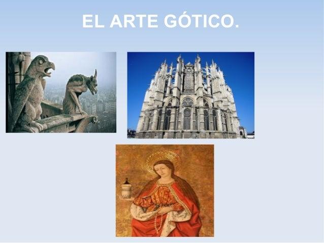 EL ARTE GÓTICO.