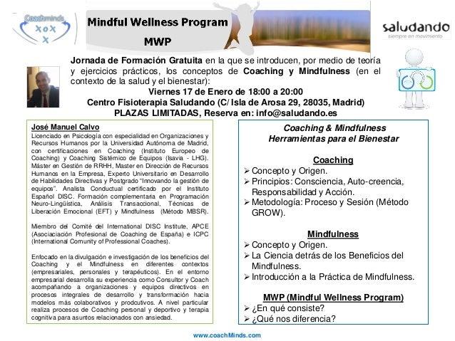 Jornada de Formación Gratuita en la que se introducen, por medio de teoría y ejercicios prácticos, los conceptos de Coachi...