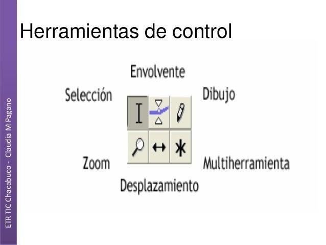 ETR TIC Chacabuco - Claudia M Pagano  Herramientas de control