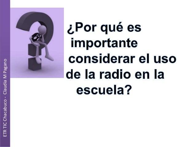 ETR TIC Chacabuco - Claudia M Pagano