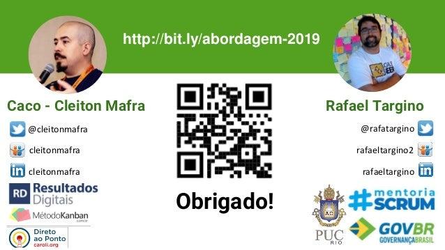 Jornada Colaborativa RJ 2019 - Uma Abordagem Lean para Mudancas