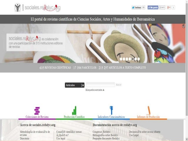 Ciencias Sociales en Acceso Abierto