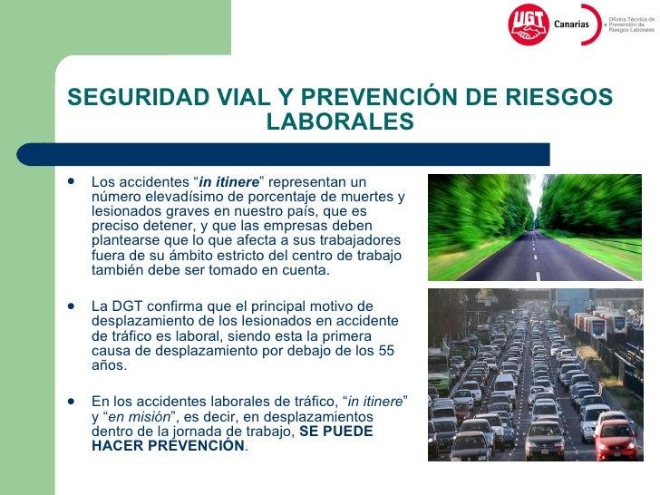 Jornada de seguridad vial y prevencion de riesgos laborales for Prevencion de riesgos laborales en la oficina