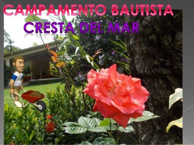 CAMPAMENTO BAUTISTA CRESTA DEL MAR, EL MINISTERIO EVANGÉLICO EDIFICANDO MI CASA Y LAS IGLESIAS BAUTISTAS (Organizaciones s...