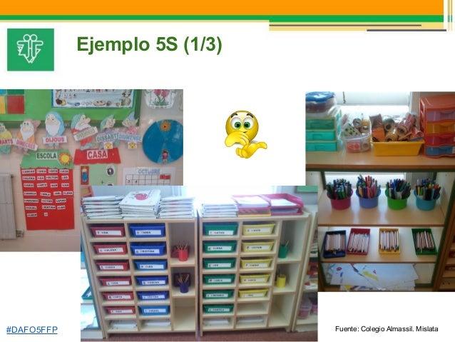 Jornada experiencias calidad 5s en cipfp faitanar for Ejemplos de oficinas