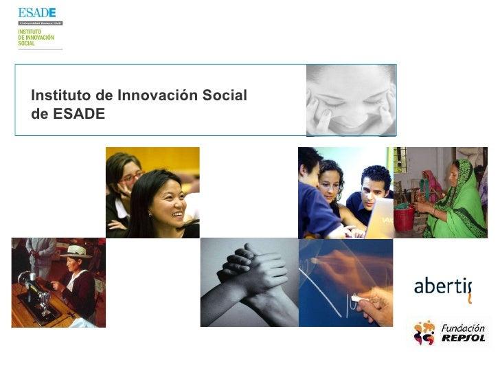 Instituto de Innovación Social  de ESADE