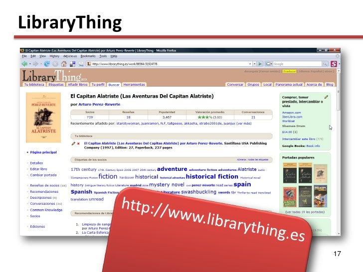 LibraryThing                    17