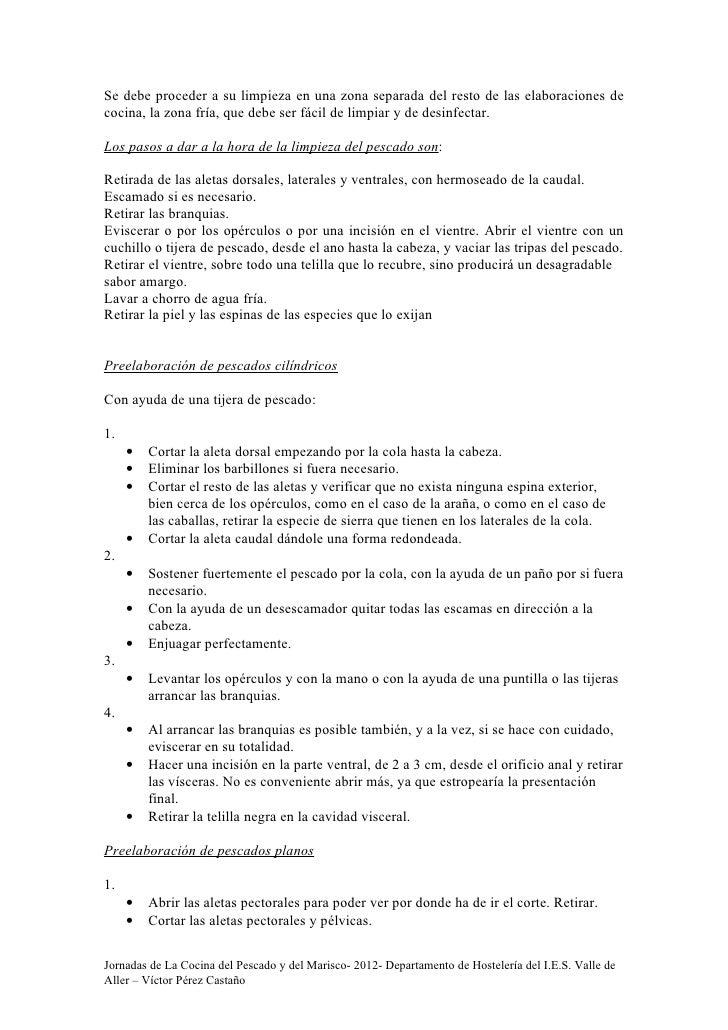 Jornadas de la cocina del pescado y del marsico 2012 - La cocina del 9 ...