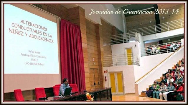 Jornadas de Orientación 2013 14