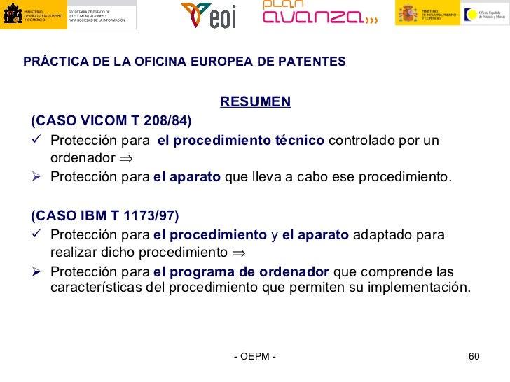 Invenciones implementadas en ordenador protecci n del software for Oficina europea de patentes