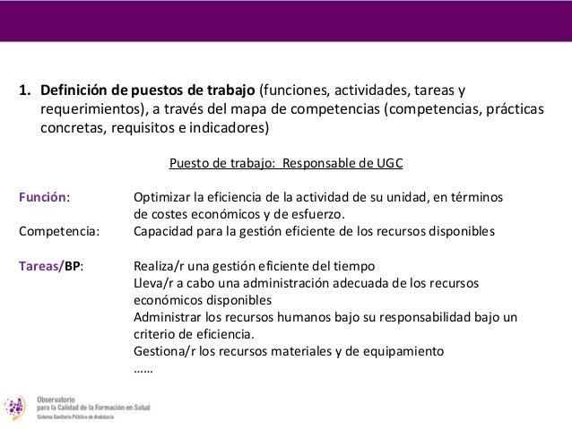2. Traducción del mapa de competencias en elementosformativosCompetencia                           Objetivo general de apr...