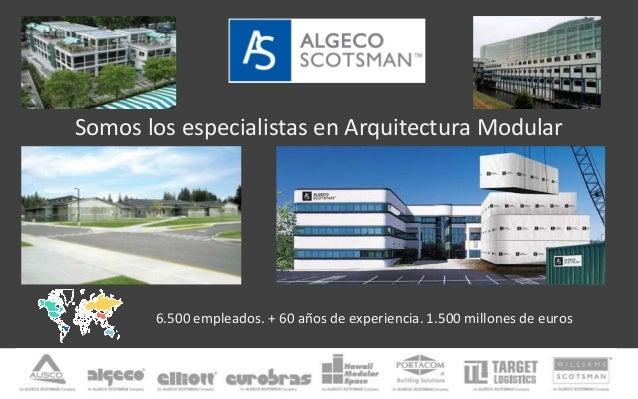 Arquitectura modular y edificios transportables for Arquitectura modular