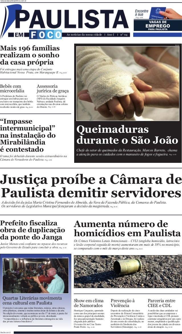 Bebês com microcefalia Assessoria jurírica de graça A Prefeitura do Paulista vai entregar um ônibus para uso exclusivo no ...