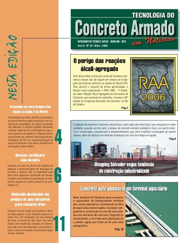 NEST EDIÇÃO                                                             INFORMATIVO TÉCNICO: ABESC - IBRACON - IBTS       ...