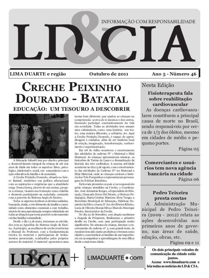 LIMA DUARTE e região                                               Outubro de 2011                                Ano 5 - ...