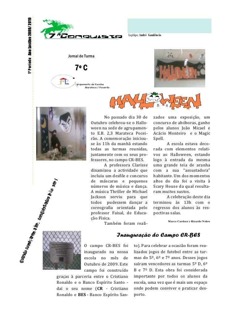 1º Período Ano Lectivo 2009/ 2010                                                                                         ...
