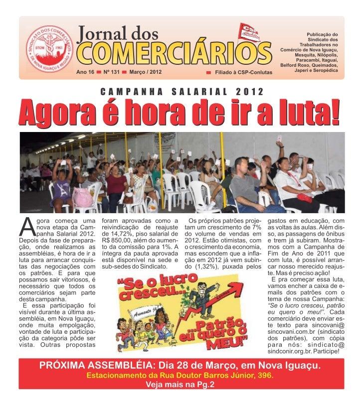 SINDICATO                                        SINDICATO   DENÚNCIAS   Jornal de responsabilidade da diretoriacolegiada ...