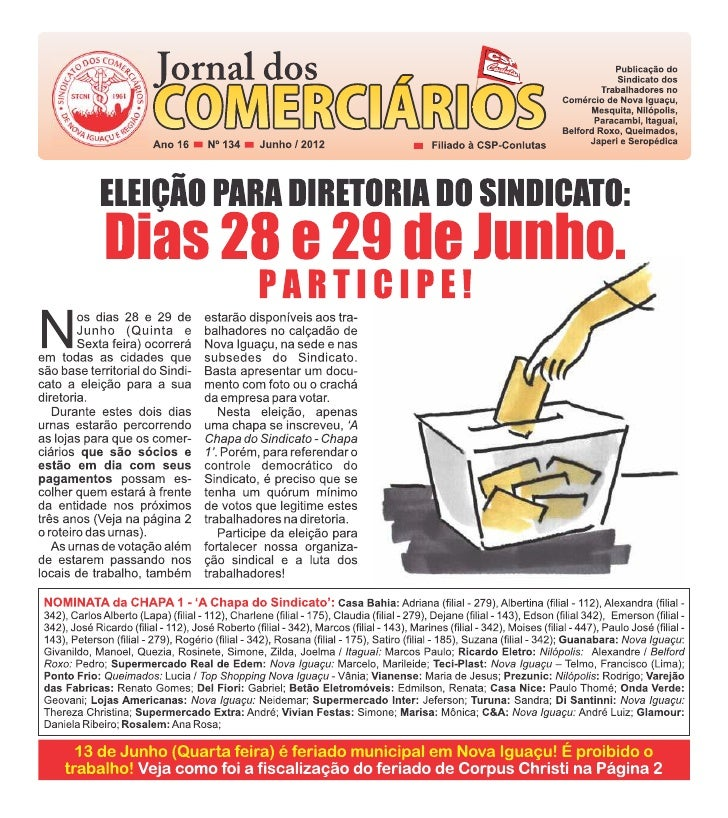Jornal dos Comerciários - Nº 134