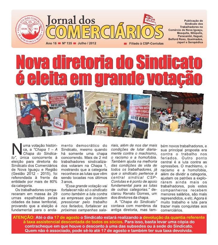 Jornal dos Comerciários - Nº 135
