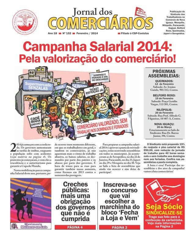 Jornal dos Comerciários - Nº152